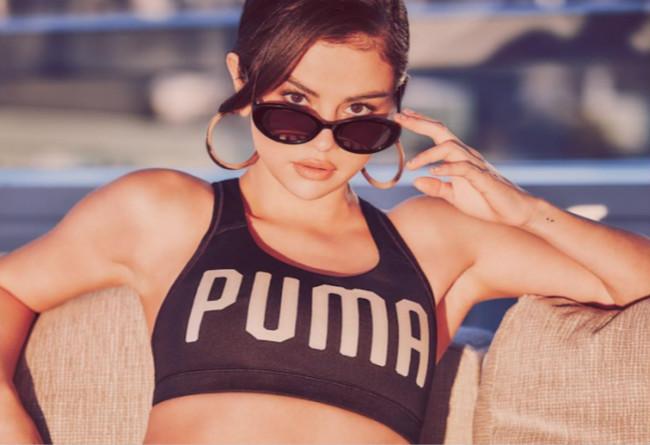 Selena Gomez签约PUMA 傻脸娜首款签名鞋PUMA XO Parallel