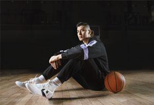 匡威签约阿不都沙拉木 阿不都沙拉木上脚匡威最新篮球鞋 All Star Pro BB