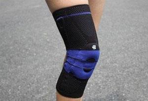 鲍尔芬纯黑护膝真假对比 鲍尔芬纯黑护膝真假对比图