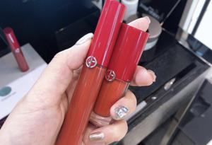 阿玛尼限量205和200哪个好看 阿玛尼红管205和小胖丁200试色对比