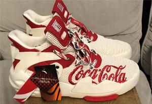 安踏联名可口可乐开箱测评 安踏霸道联名可口可乐上脚图赏析