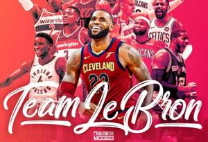 NBA全明星阵容公布 詹杜联手对抗库里哈登