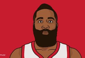 哈登创造历史砍NBA首个60分三双 MVP已是哈登囊中之物